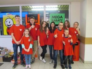 ekipa wolontariuszy