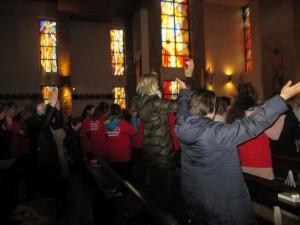 w sanktuarium wspolna modlitwa